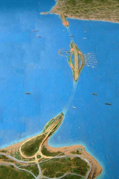 gibraltar floating bridge