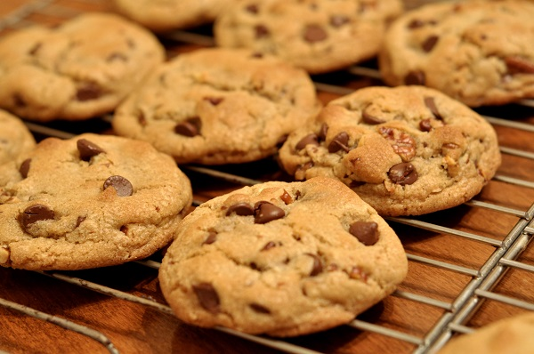 cookies with choc chips