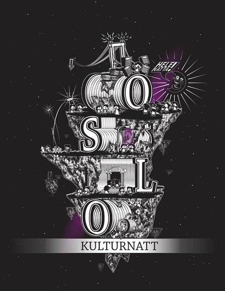 graphic design for Norway culture festival
