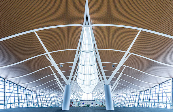 interior of shanghai airport