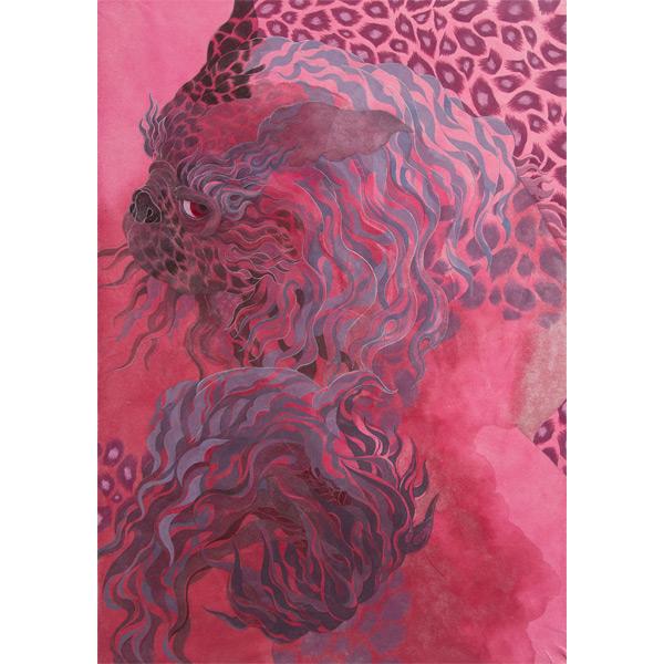 Yoriko youda illustration of dragon