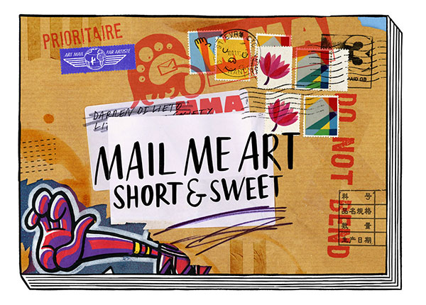 Mail me art book