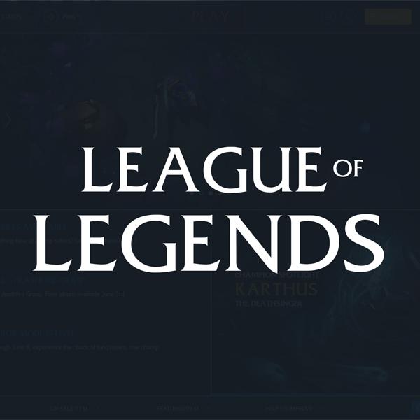 typeface for league of legends