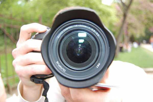 Photographer photographed