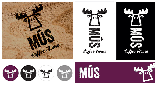 logo designs for mus coffee