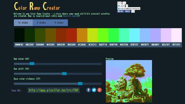 color ramp creator