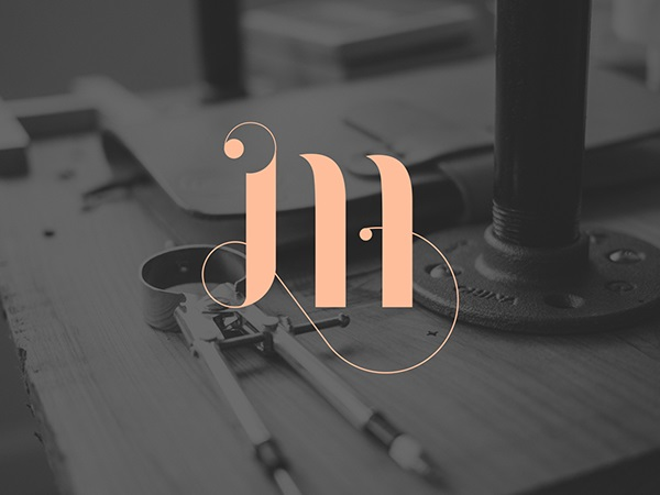 monogram design by martina cavalieri