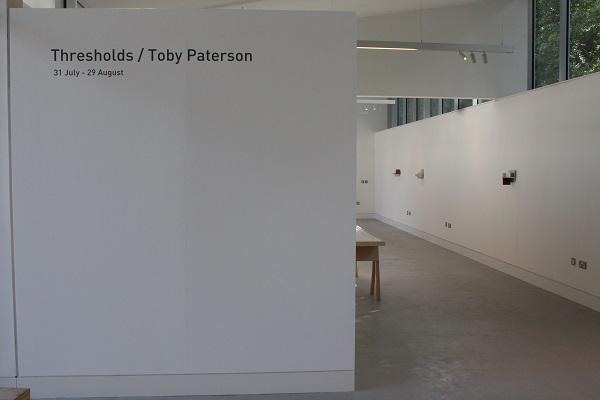 Toby Paterson, Edinburgh Sculpture Workshop, Installation view, Courtesy the artist #2
