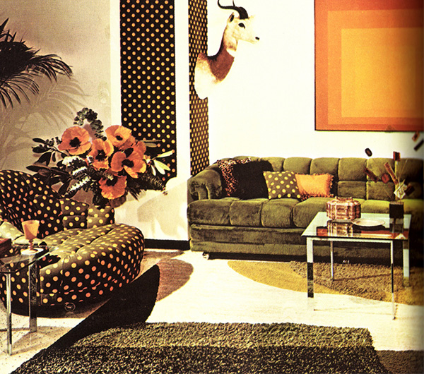 back to the future with 1970s interior design