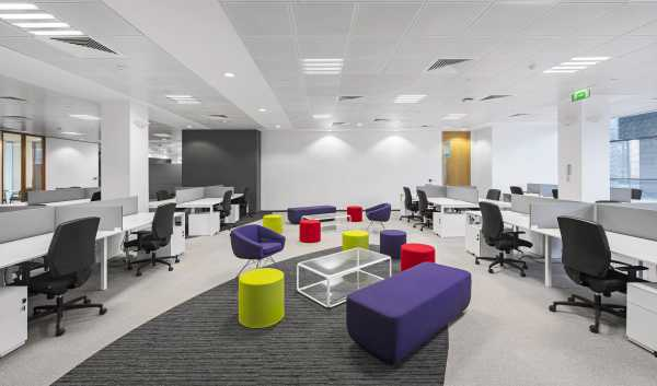 interior of an office shot by Gareth Byrne