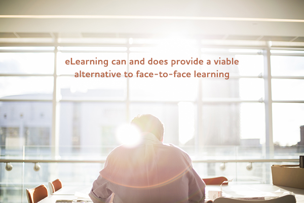 eLearning can provide learning alternative