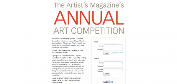 The Artist's Magazine Annual Art Competition
