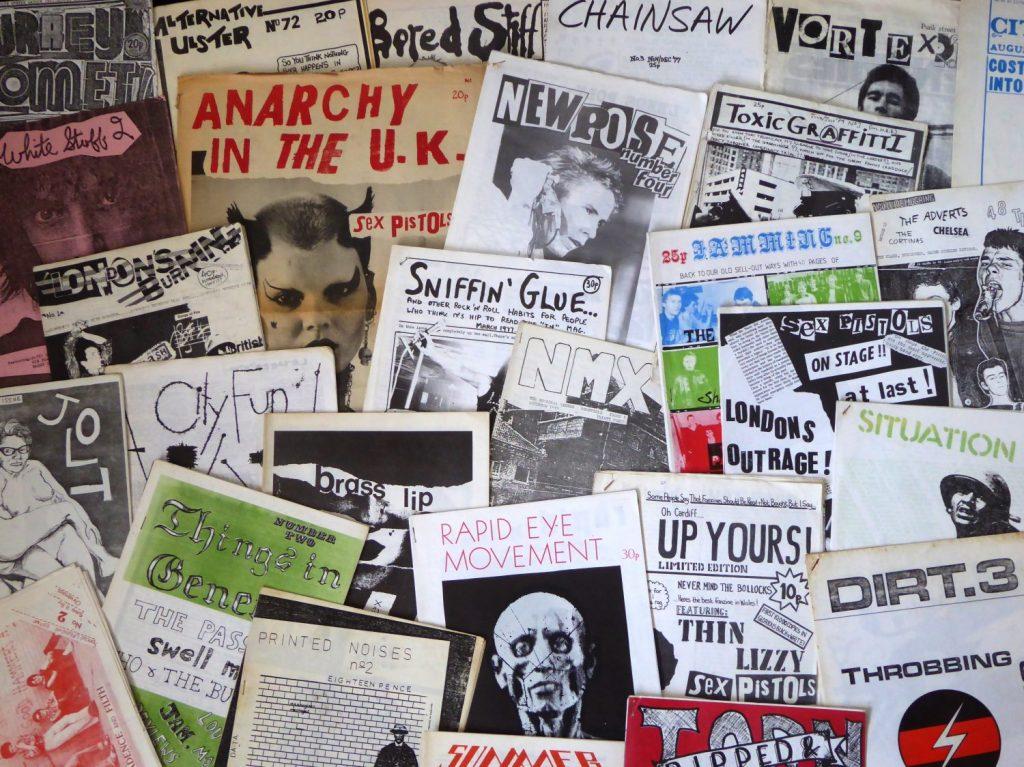 Zine Making - 70s Punk Fanzines