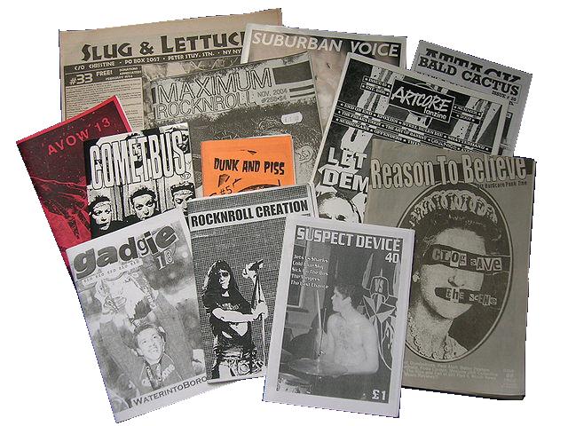 Zine Making - 70s Fanzines