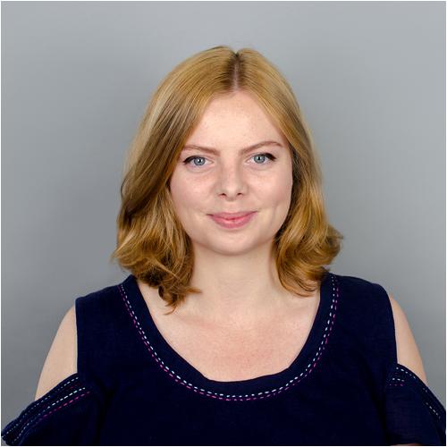 Gabriella O'Driscoll, Programme Coordinator for the online graphic design degree programme